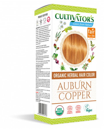 Organic Hair Color - Auburn / Copper - Cultivator's