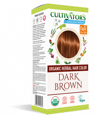 Organic Hair Color - Dark Brown - Cultivator's