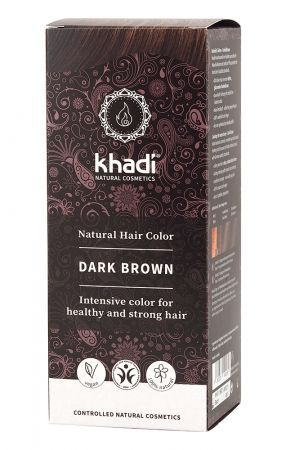 Khadi Herbal Hair Colour - Dark Brown