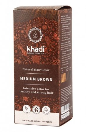 Khadi Hair Colour – Medium Brown