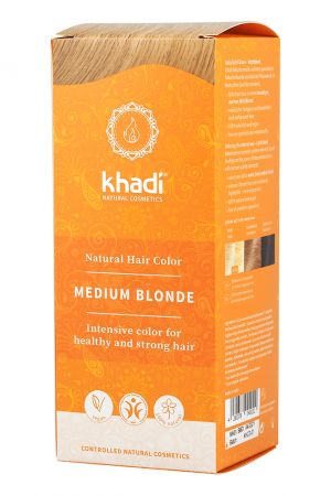 Khadi Herbal Hair Colour - Medium Blonde