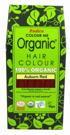 Natural Hair Dye - Auburn Red - Radico
