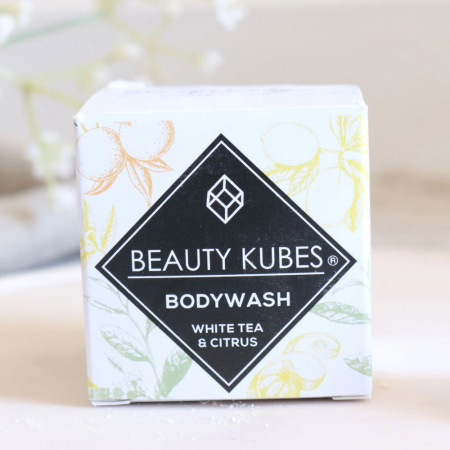 Body Wash with White Tea and Citrus - Beauty Kubes
