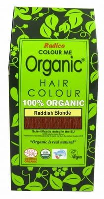 Natural Hair Dye - Reddish Blonde - Radico