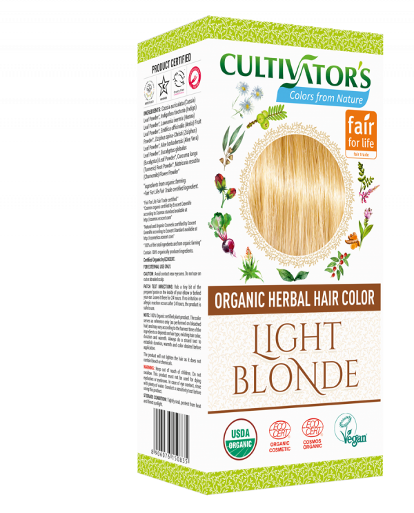 Organic Hair Color - Light Blonde- Cultivator's