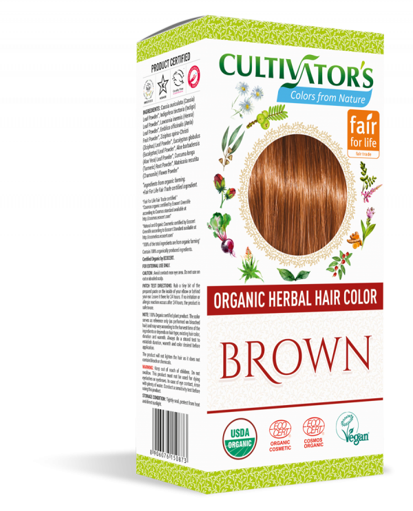 Organic Hair Color - Brown - Cultivator's