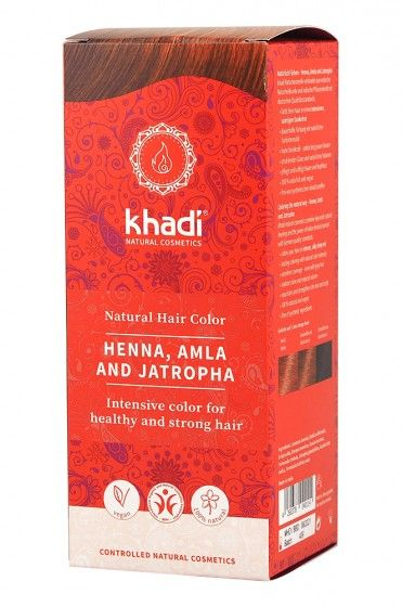 Khadi Herbal Hair Colour - Pure Henna