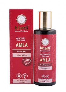 Khadi Organic Amla Volume and Gloss Shampoo – 210 ml