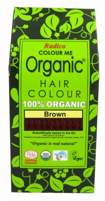 Natural Hair Dye - Brown - Radico