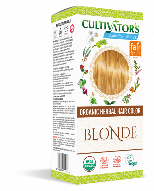 Organic Hair Color - Blonde- Cultivator's