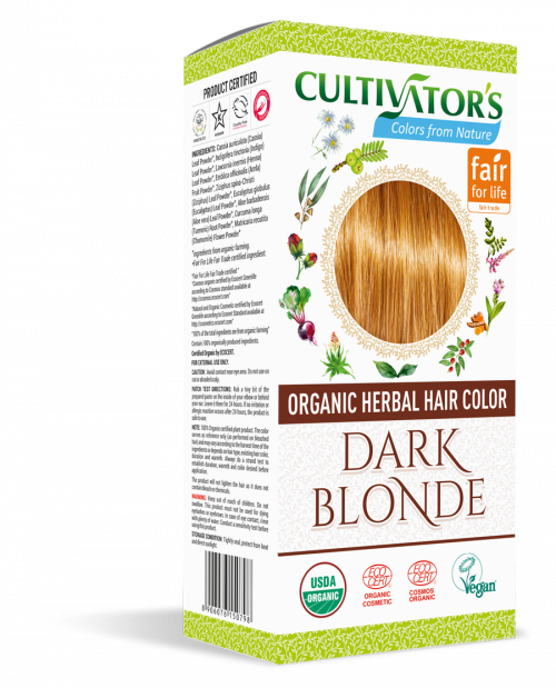 Organic Hair Color - Dark Blonde- Cultivator's