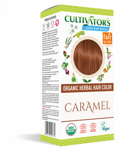 Organic Hair Color - Caramel - Cultivator's