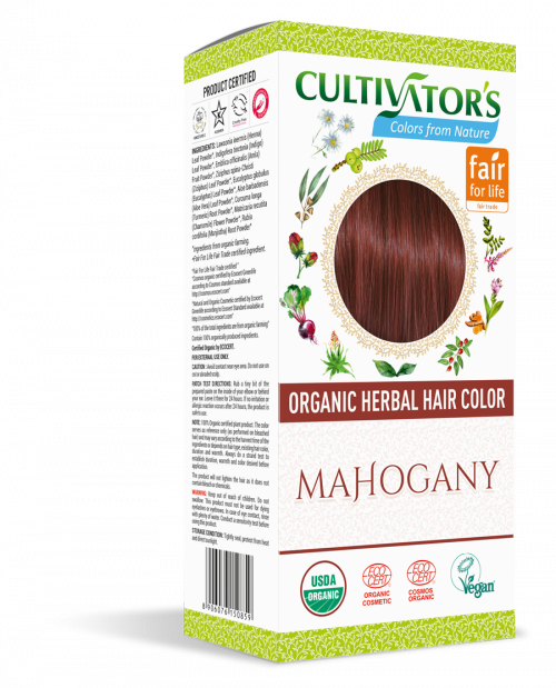 Organic Hair Color - Mahogany - Cultivator's